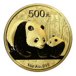 1oz Chinese Panda Gold Coin