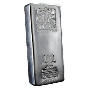 100 Oz Silver Bar Best Value