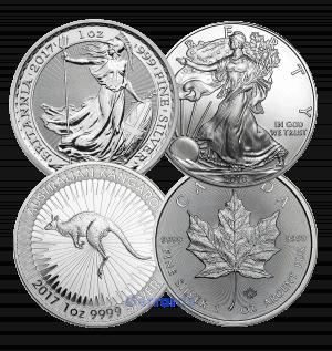 1 oz silver bullion coin