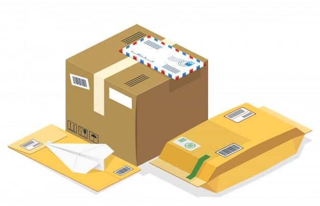 postal-parcels-types-vector